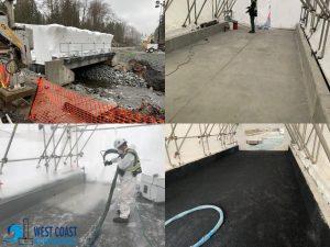 Bridge Deck Waterproofing by West Coast Waterproofing